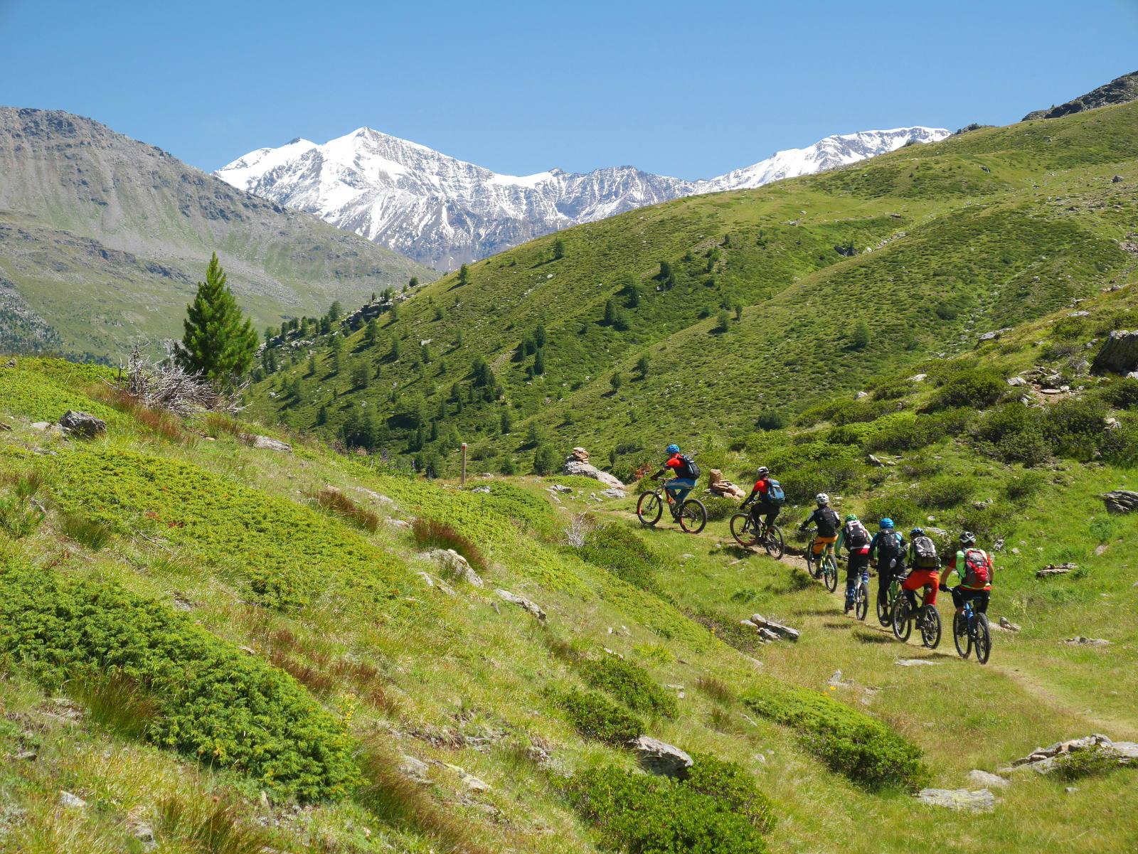 feinste Trails und Landschaften erleben im Valfurva