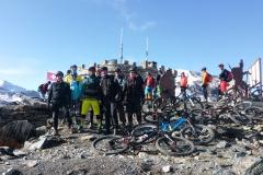Gruppenerlebnis unterwegs auf Alpencross