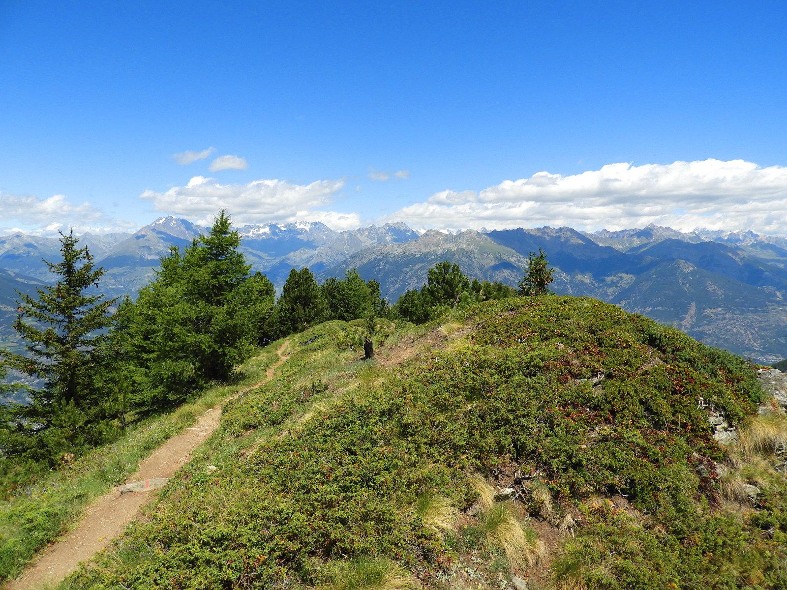 Traumpanoramen über Aosta