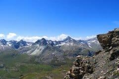 hochalpine Landschaften begleiten uns
