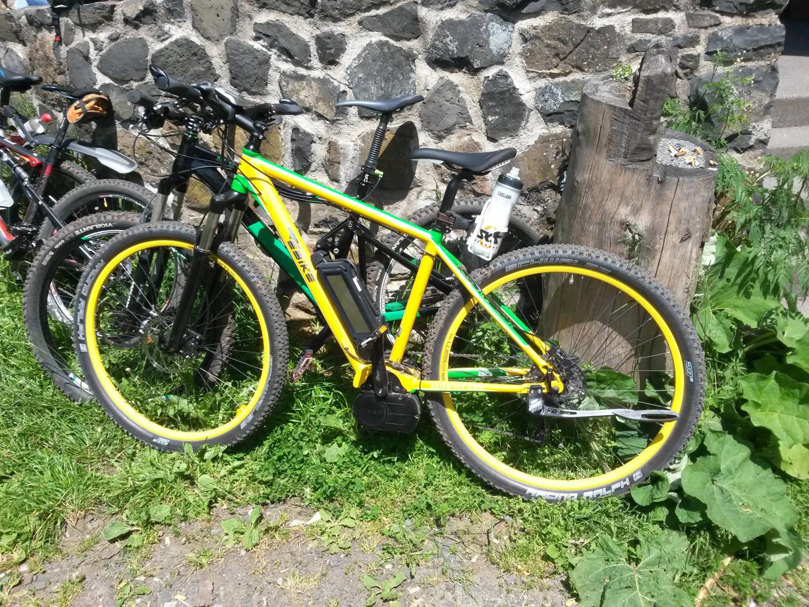 E-Mountainbikes der ersten Stunde in der Rhön