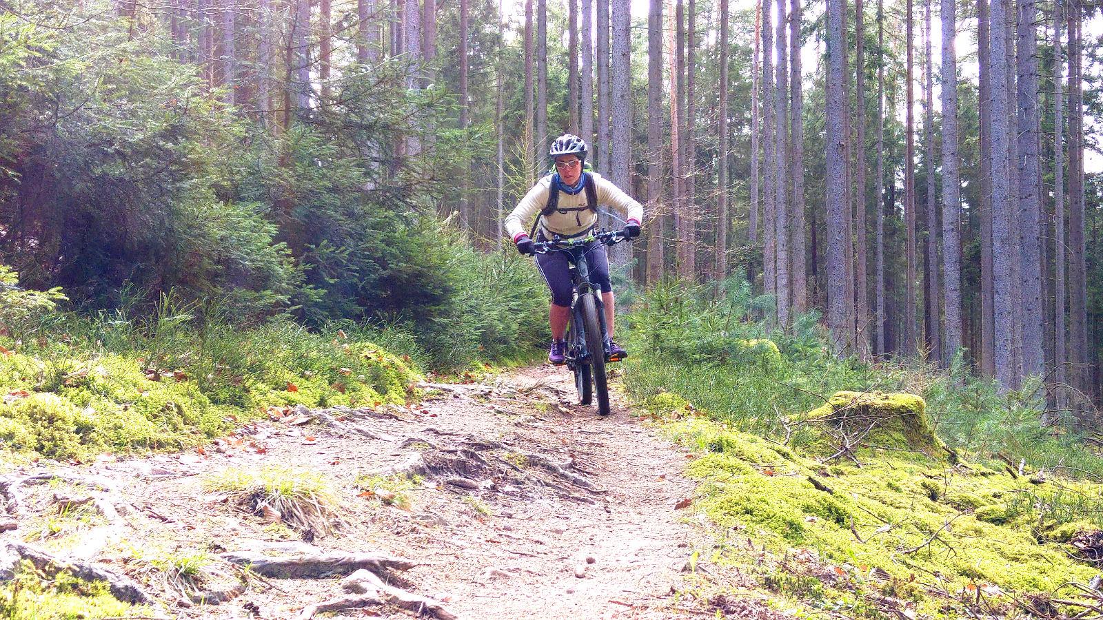 E-Trailtour in der Rhön