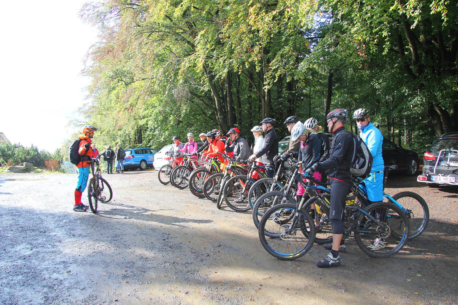 Easy E-Mountainbike Tour in der Rhön