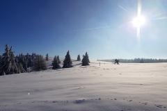 herrliche Skitouren Tage in der Rhön