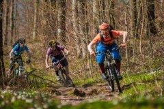 flüssiges Trail biken im Enduro Trailtechnik Camp