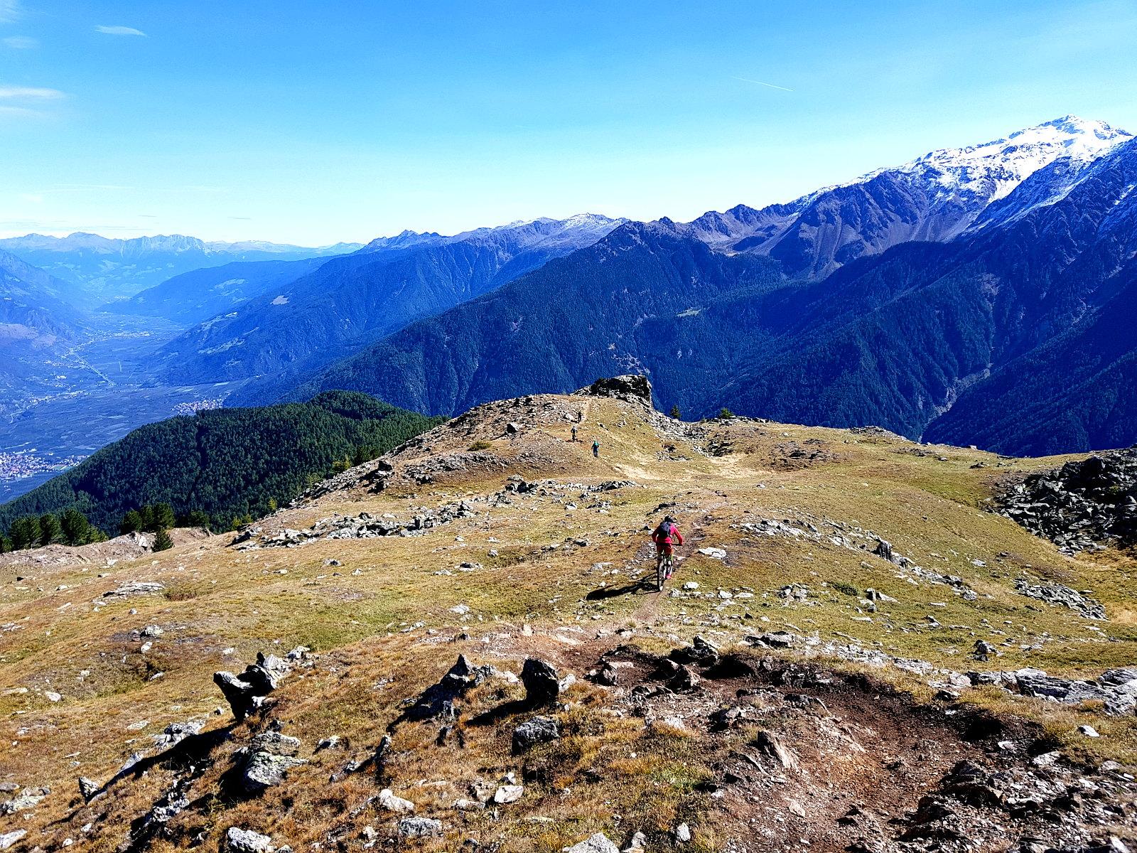 Vinschger alpine Trails begleiten uns