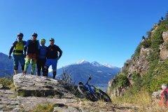 kleine Gruppe großer Spaß im Trailcamp Vinschgau