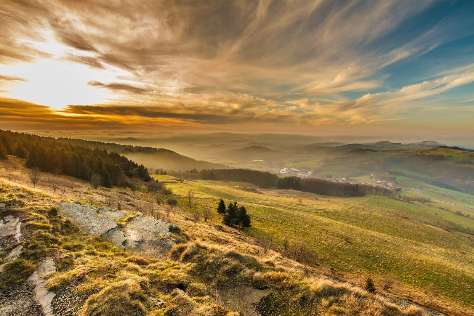 Rhön Panorama zum entspannen