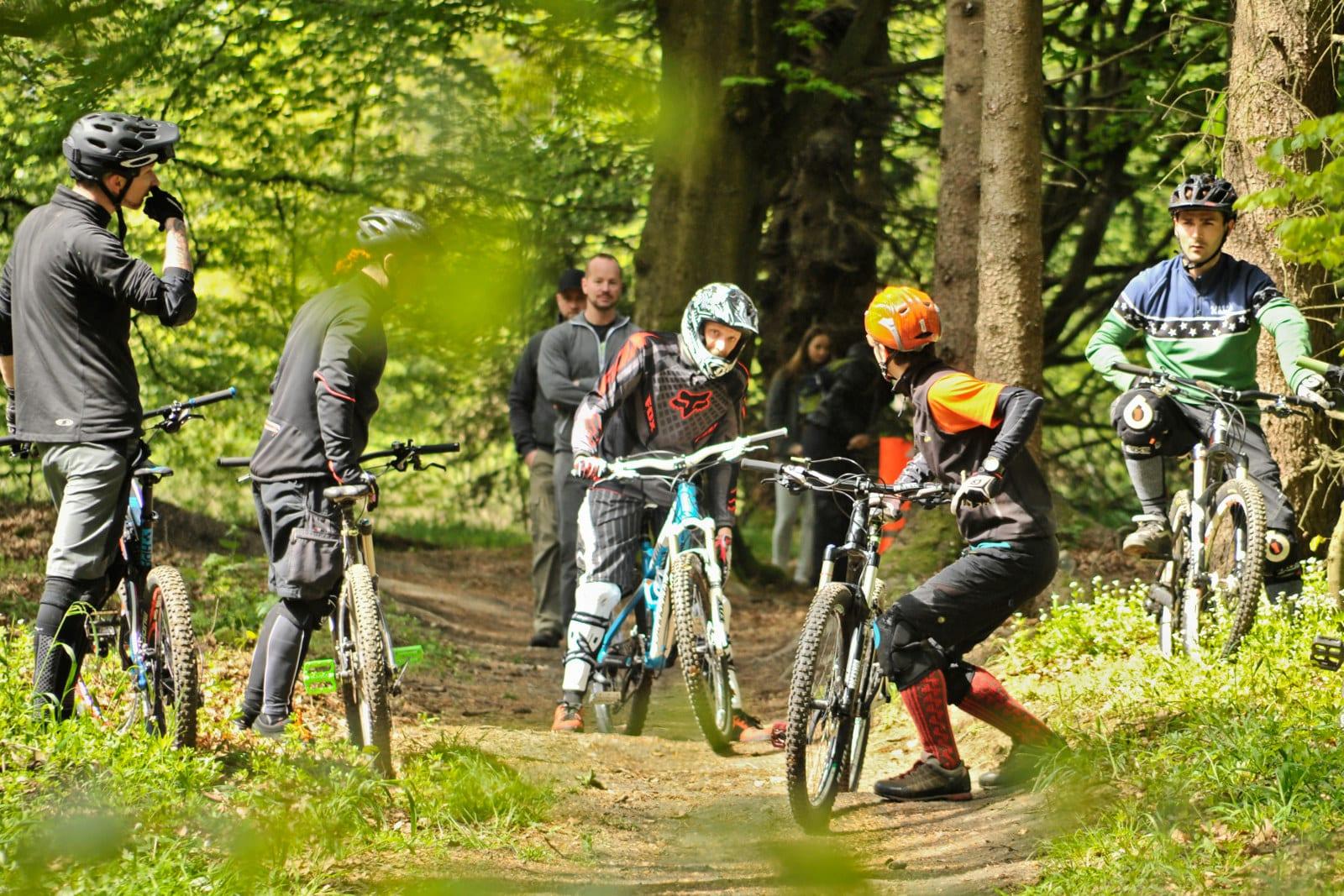 Training direkt im Trail