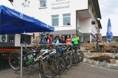 Spaß und Gute Laune bei der Ladies Only Mountainbike Tour in der Rhön