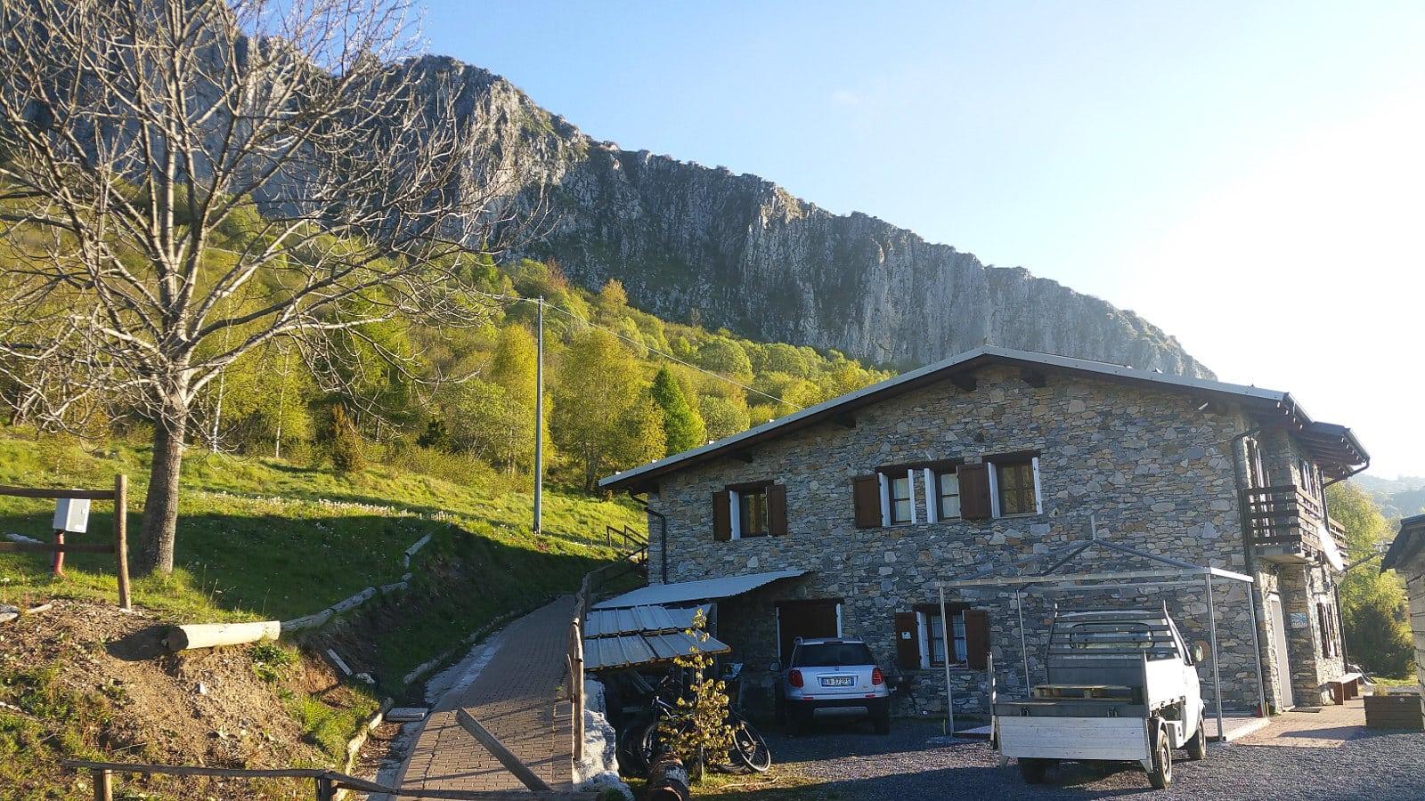 Refugio im Hinterland von Finale Ligure