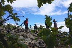 Pause vor den langen Trails in Ligurien