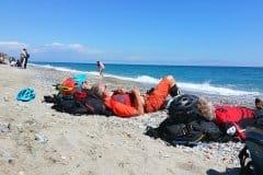 verdientes Relaxen nach den Ligurischen Trails