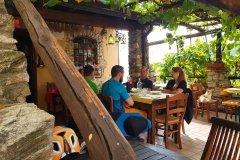 Mittags in einer typischen ligurischen Osteria