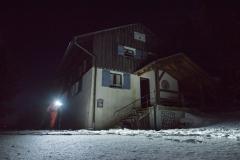 Einkehrschwung in der Rhön auf Nachtskitour