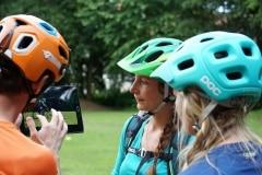 Videoanalyse beim Fahrtechnik Kurs