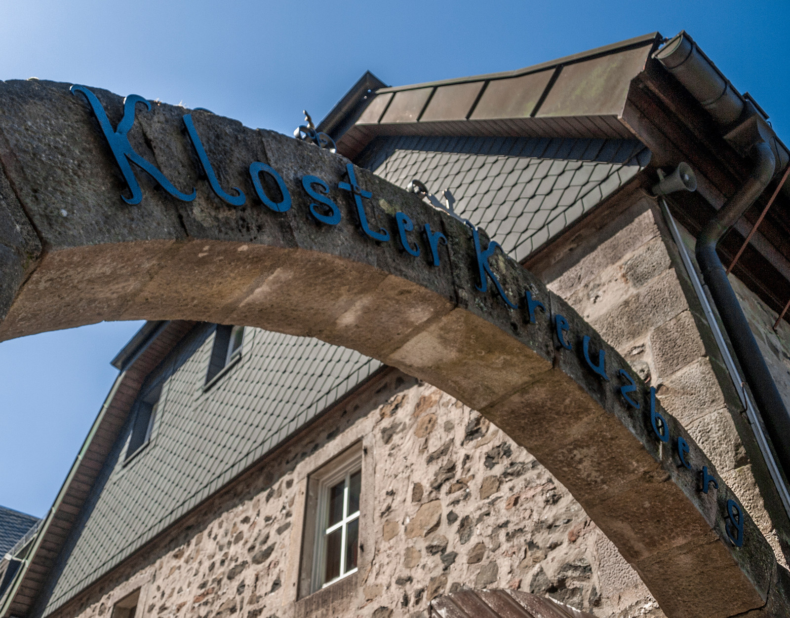 berühmtes Kloster Kreuzberg und Klosterbier