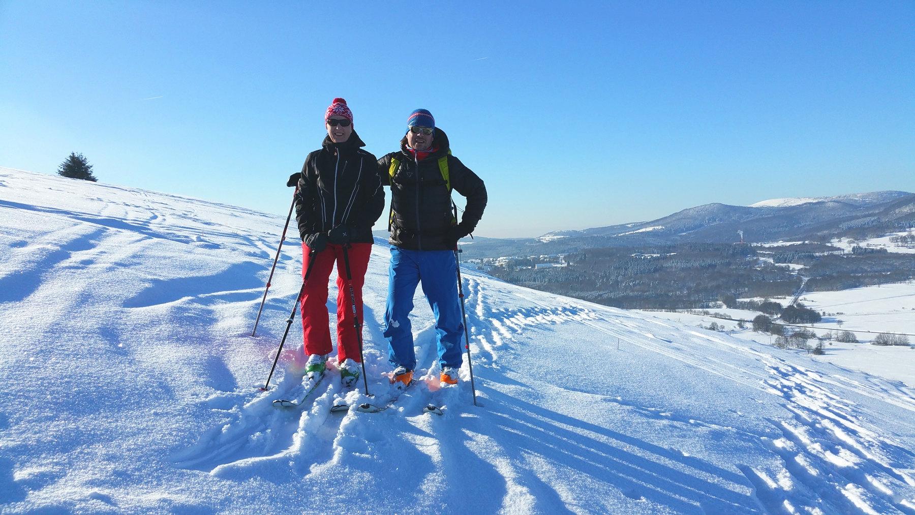 Privat Skitour in der Rhön