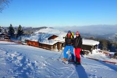 urige Hütten und schöne Skiberge in der Rhön