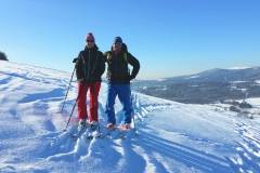 Privat Skitour in der Rhön