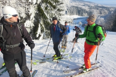 Skitour in der Rhön