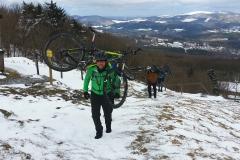 kleine Bike Bergsteig Einlage