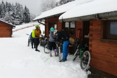 Hütteneinkehr auf Snowtrails Tour