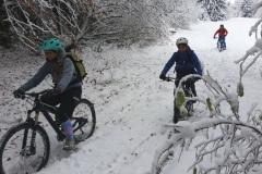 da kommt Freude auf den Snowtrails auf