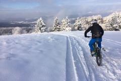 herrliche Snowtour in der Rhön