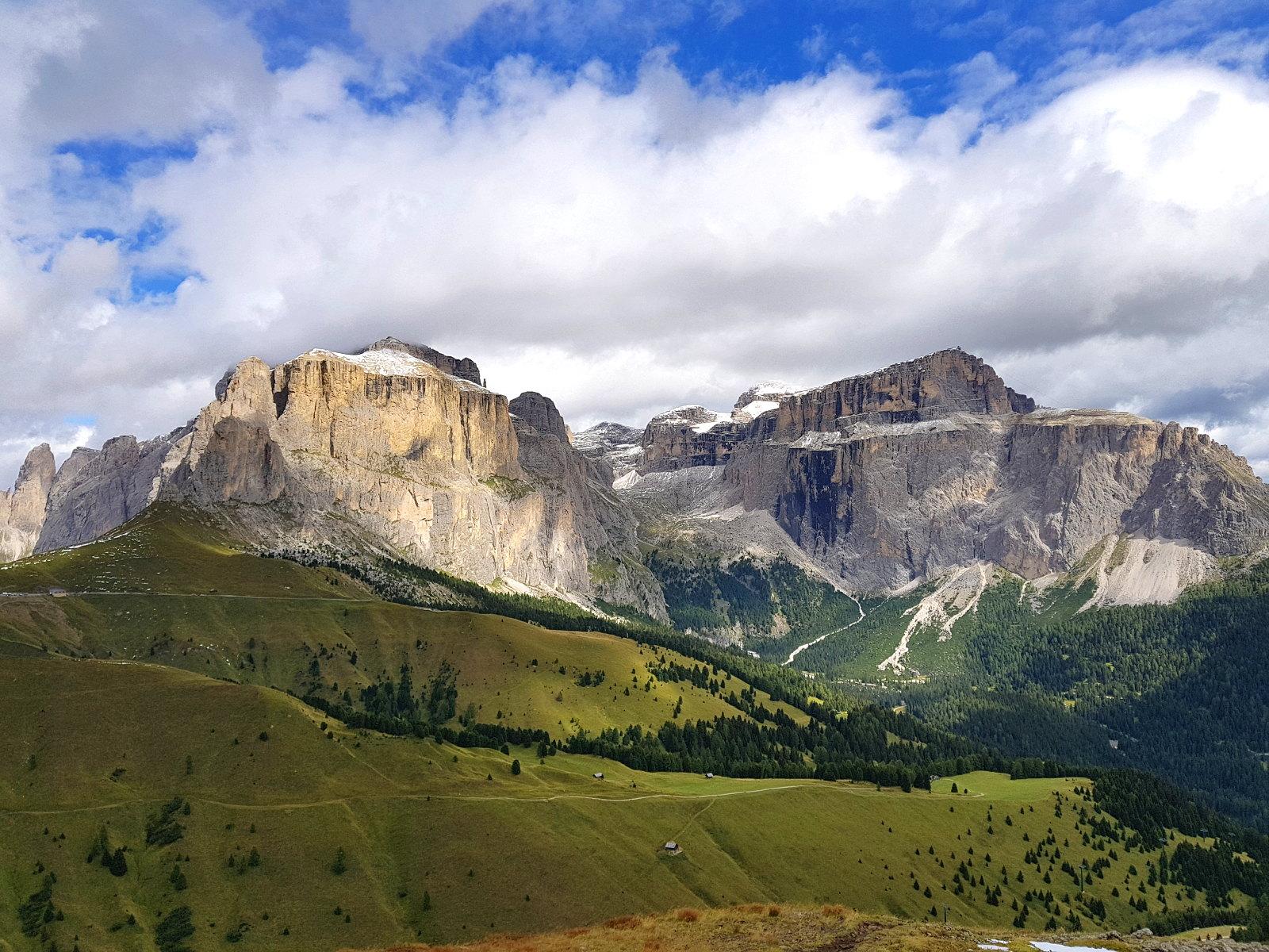 klassische Dolomiten Formationen