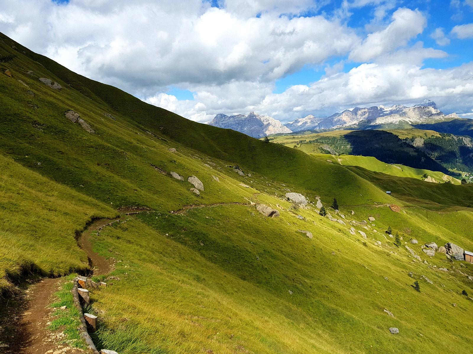 neue Trails in den Dolomiten