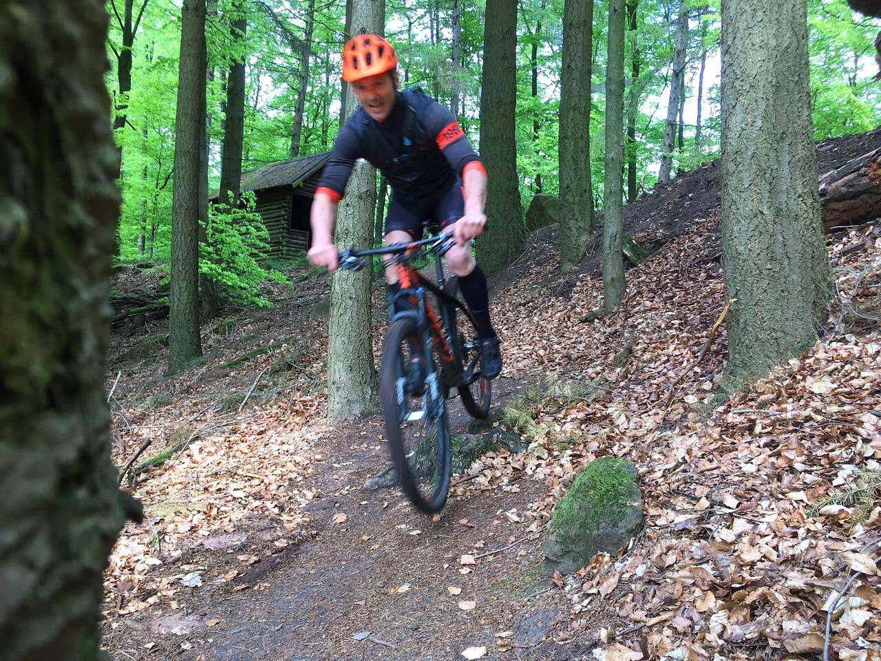 Mountainbike Tour in der Pfalz