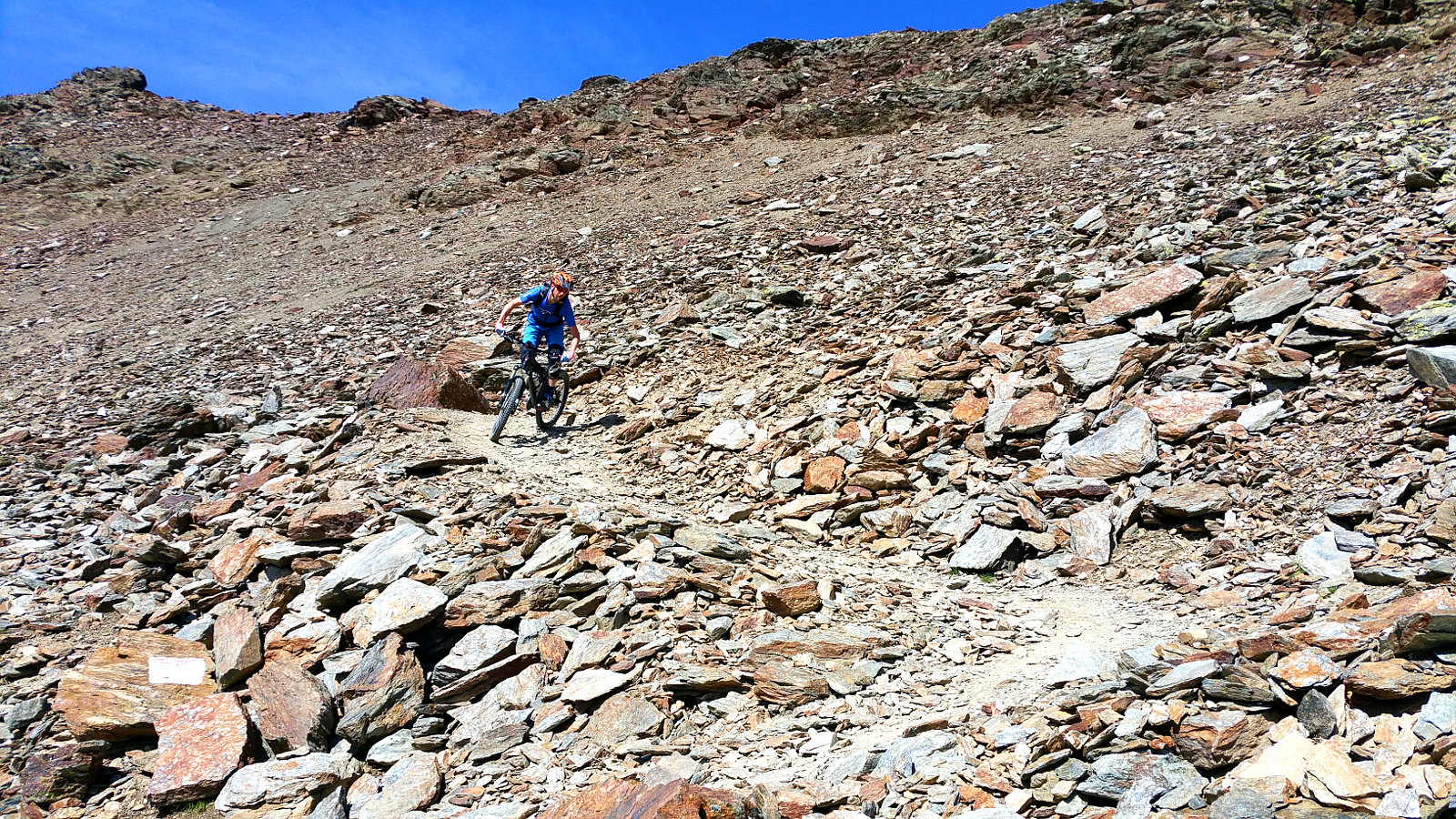 alpine Kehren in Bormio