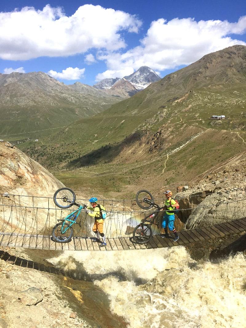 tibetanische Brücken im Valfurva