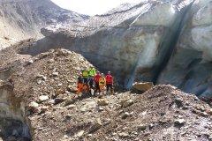 Gletschereis zum anlangen