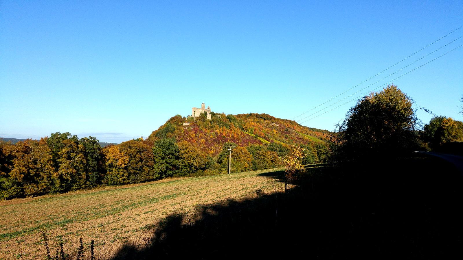 Burgen im Saaletal