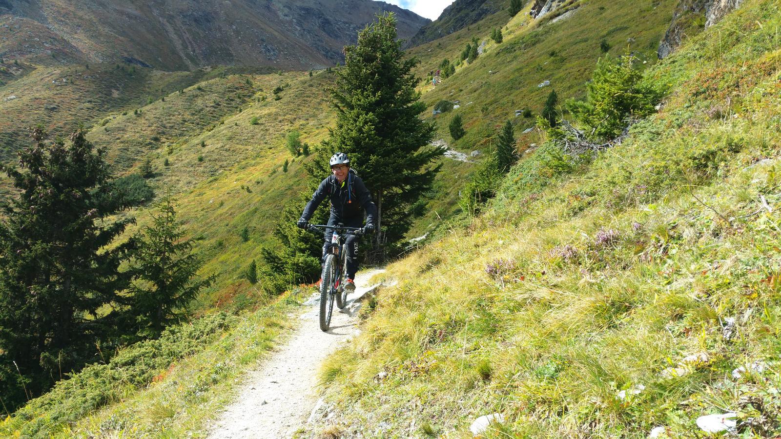 alpine Pfade im Vinschgau
