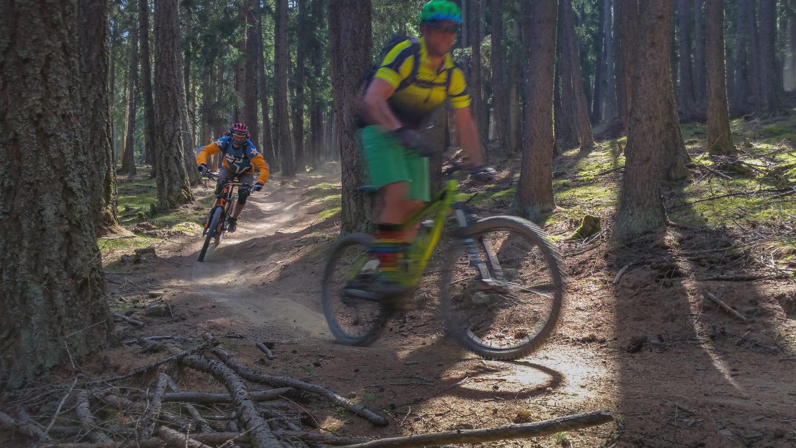 staubtrockene Vinschger Trails