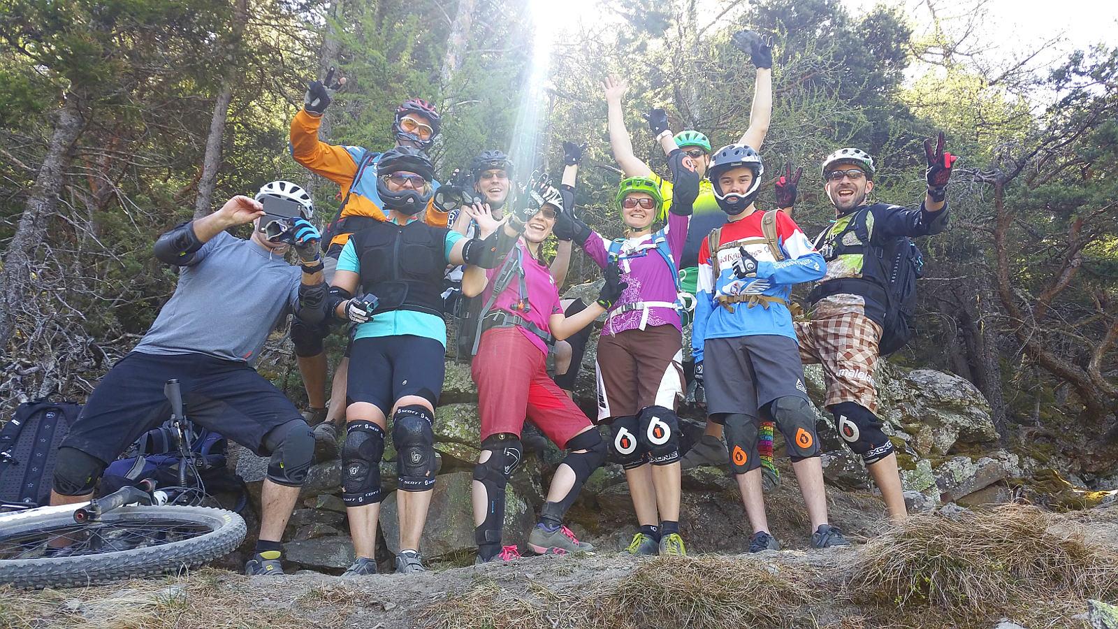 Spaß im Trailcamp