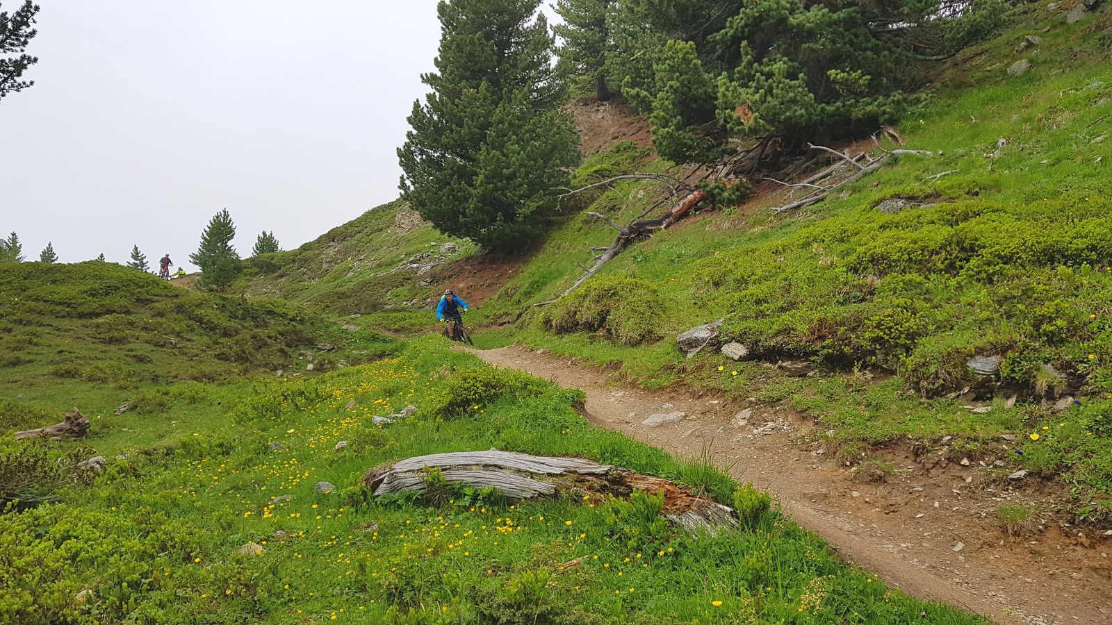 lange Trails fürs Ebike Camp im Vinschgau