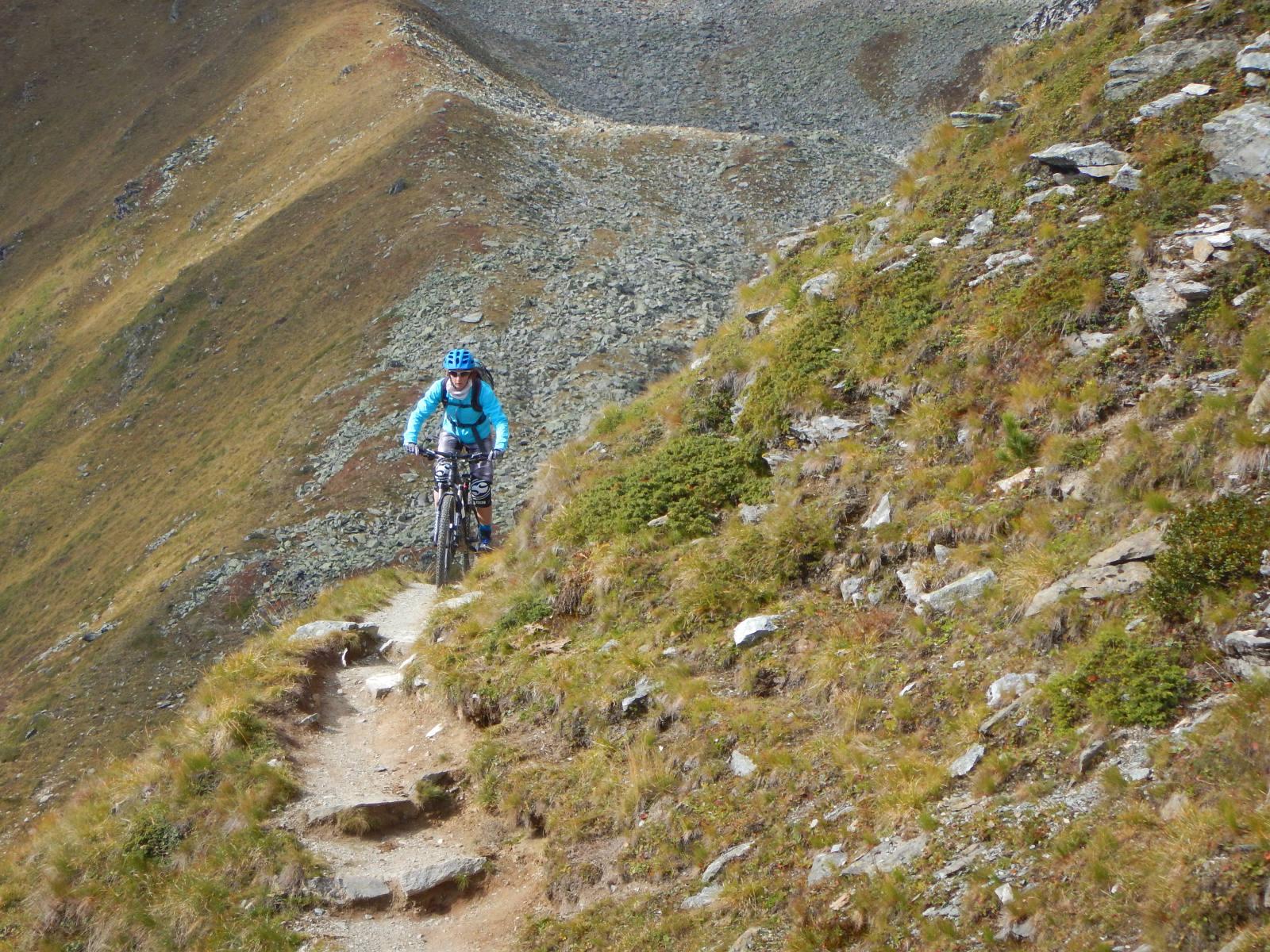 alpine Steige versprechen Trailspaß