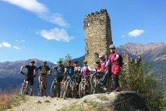 jede Menge Trals und Spaß im Mountainbike Trailcamp Vinschgau