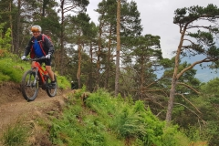 E-Mountainbike im Vinschgau