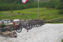 schöne Hütten im Vinschgau