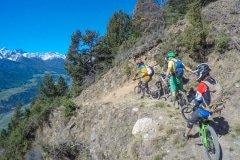 unterwegs im Propain Trail