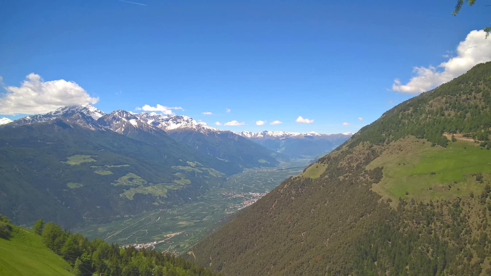 Aussichten auf die Vinschger Berge
